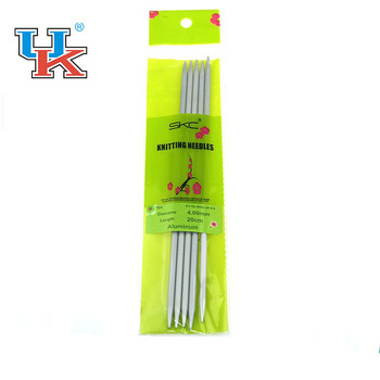 High quality aluminum Double Pointed Knitting Needles/Straight Needles