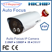 4X Optical Zoom H.264 Outdoor Surveillance IP Camera HD 1080P with two way audio