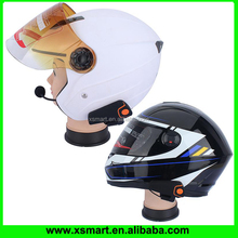 Wireless full duplex motorcycle helmet bluetooth headset/intercom FM Radio