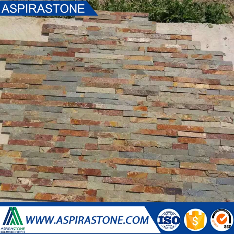 exterior decorative wall tile rusty slate tiles front wall cladding