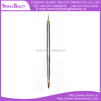 Wholesale Nail Artist Design Gel Liner Painting Two Sided Nail Art Brushes