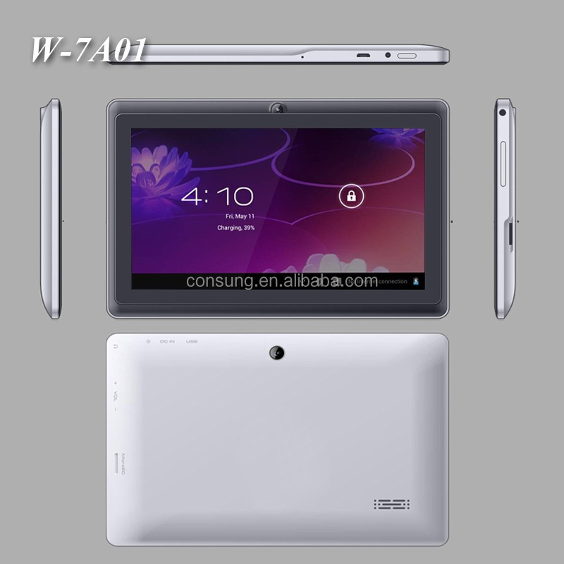 7 inch cheap Q8 A13 dual core 512/4G Tablet PC /7 inch custom tablet manufactures