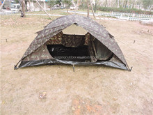 outdoor camping camouflage mosquito net tent nylon fabric military dome tent factory wholesale