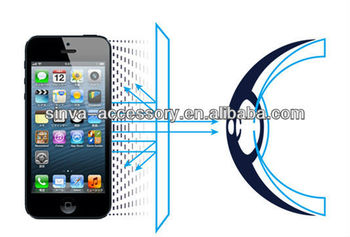 Newest Hot selling Anti-UV Anti-blue light Screen Film for iphone 5