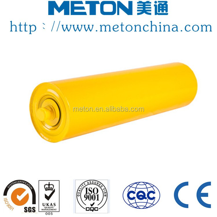 Slip-on conveyor roller carrier conveyor roller