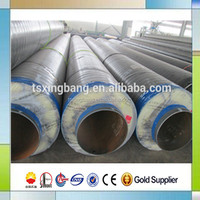 heat insulation material glass wool cover steam insulation pipe