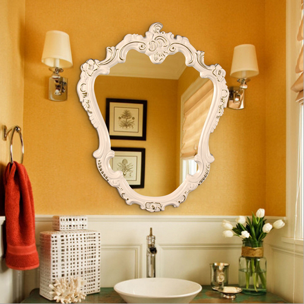 European style vintage home decor decorative mirror design for Vintage home interior products