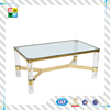 customized clear acrylic side table/ 2015new idea acrylicdining table/elegant made acrylic tea table made in China low price