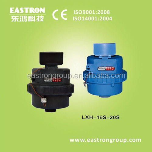 plastic body, ISO4064 High Accuracy, volumetric , rotary piston water meter