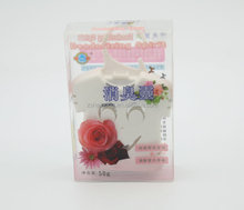 Factory sale hanging flavor rose car air freshener for hospital