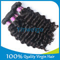 Top Quality Double Drawn virgin european remy virgin human hair weft