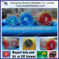 Durable colorful PVC/TPU human sphere water running ball
