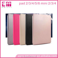 Luxury Flip Shockproof Smart Leather Rotatable Case For Ipad mini2,3,4,For Ipad 2 3 4 5 6 Case Leather Cover