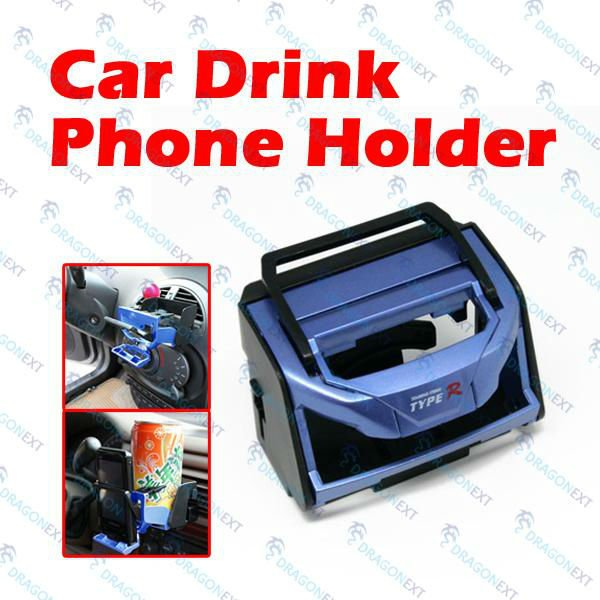 Car Drink Cup Coffee Bottle Stand Mount Air Vent Clip Holder