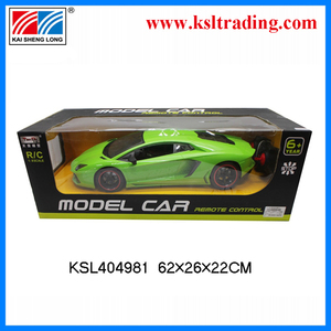 2014 1/8 scale model cars rc toy kid toy 4 channel with light EN71racing car made in china