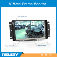 8 Inch Touch Panel Open Frame Industrial Embedded All in One PC