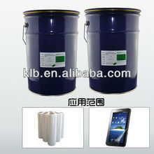 optical transparent silicon adhesive for films liquid silicone pva glue