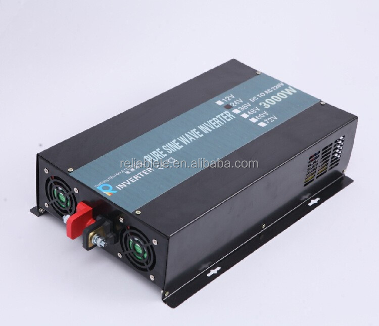 3000w dc ac off grid Pure Sine Wave Inverter for solar/car/appliance power system