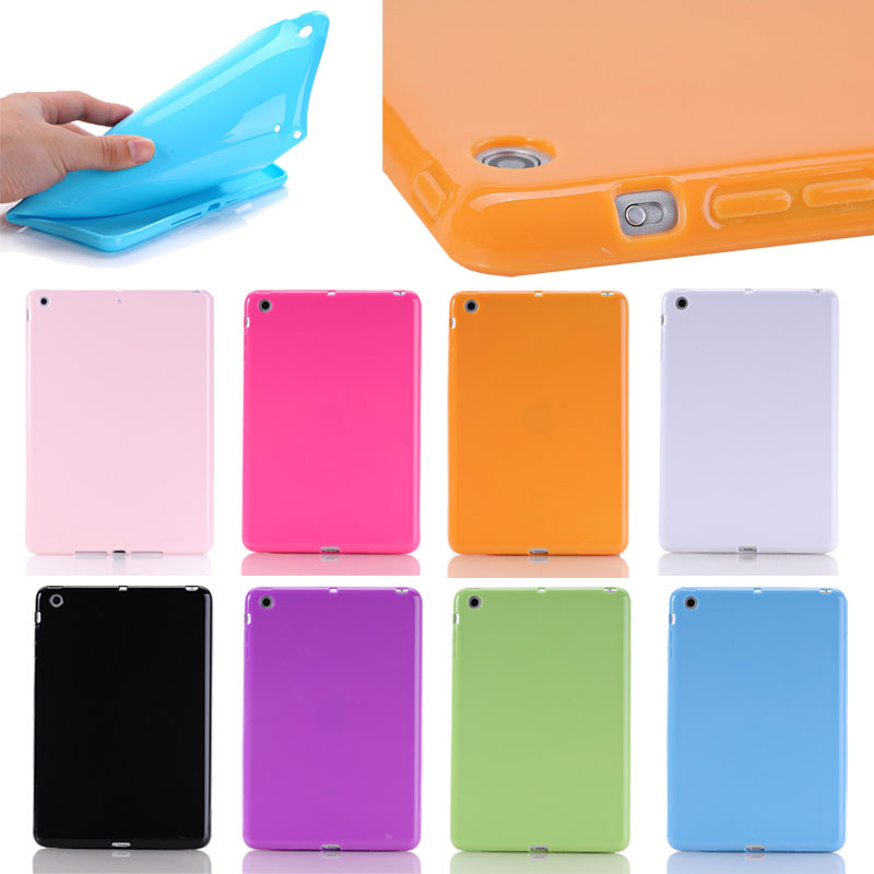 True color fancy thick tablet case for iPad mini 1 2 3, for ipad mini 1 2 3 tpu case back