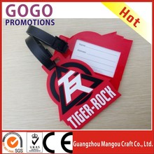 bag accessory plane luggage tag with name card, factory direct high grade luggage tag with insert in bag & accessories, bag tag