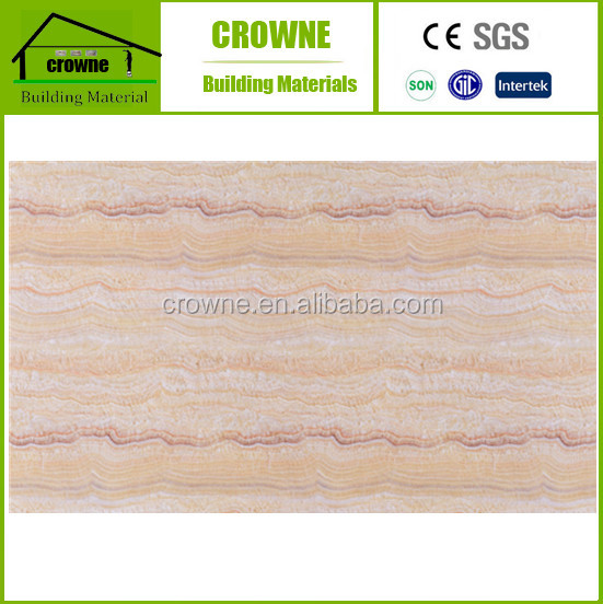 China Interior Decoration Marble Design Clear Pvc Sheet 3D marble PVC sheet with high gloss surface