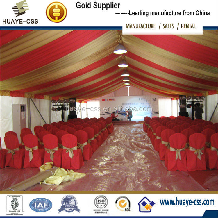 factory price fantastic party tent with roof lining for decoration marquee tent wedding tent curtains