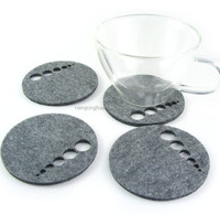laser cutting Felt Coasters set