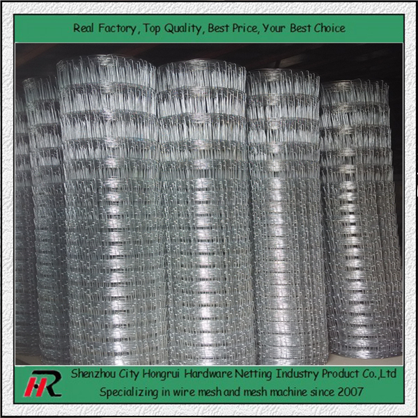 Alibaba zinc/PEE coated high quality low price woven wire deer fence