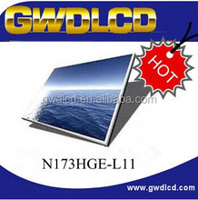 17.3 LCD panel N173HGE-L11 Matte for Asus G73JW, Dell Alienware M17X