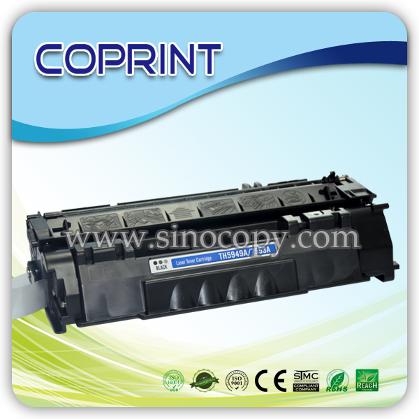 Monochrome(Black) Toner Cartridge TH5949A/7553A for 1320 Printer Series 3390/3392 Series LBP-3300 P2014/P2015 M2727 LBP-3310/337