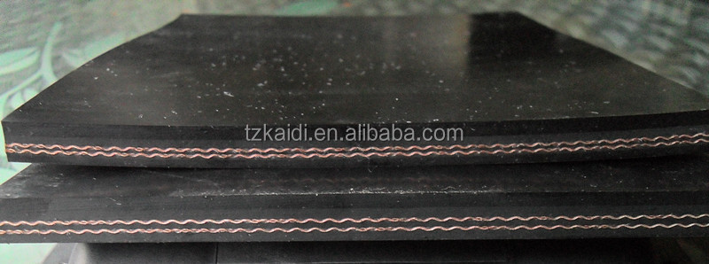 good troughability Nylon/NN100-300 rubber conveyor belt for mining industry