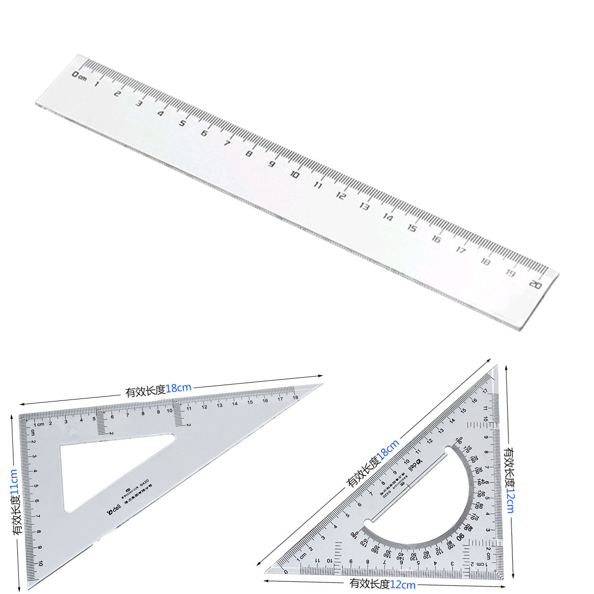 Acrylic scale ruler,engineer ruler