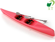 Hot sale 2 person sit on top plastic fishing kayak lldpe boat