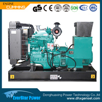 CE approved 20kw Cummins engine 4B3.9-G diesel generator price for sale