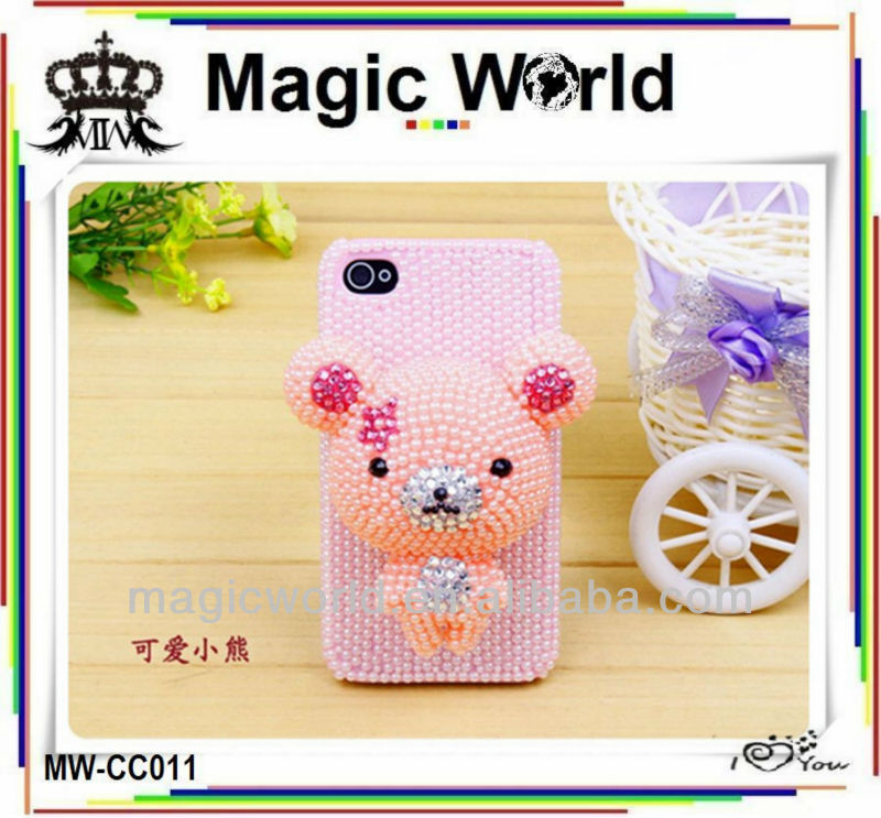 COVER FOR SAMSUNG GALAXY S3 MINI CUTE CARTOON HANDMADE CELL PHONE CASE