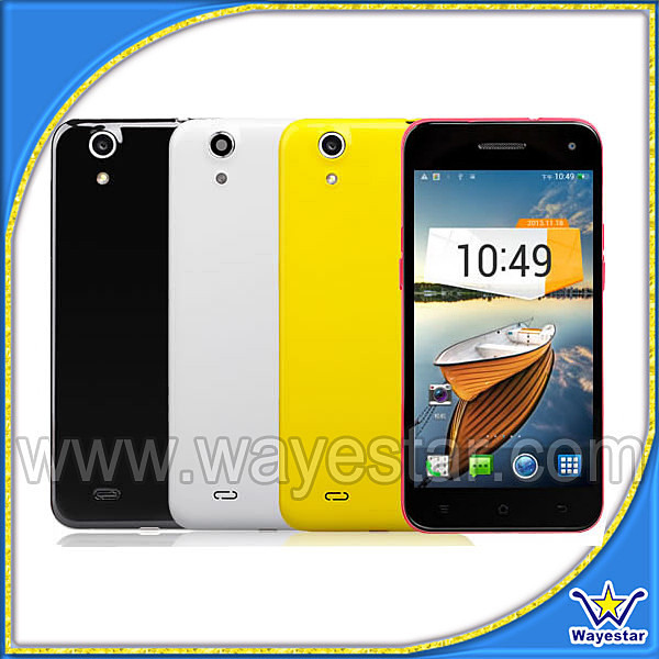 5 inch Screen MTK6589 Quad Core 3G Android 4.3 Smart Phone 1G/4G