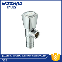 Low pressure hydrant water angle valve