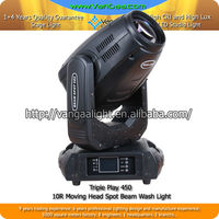 Newest Style 10R 450W Spot Beam Moving Head Light