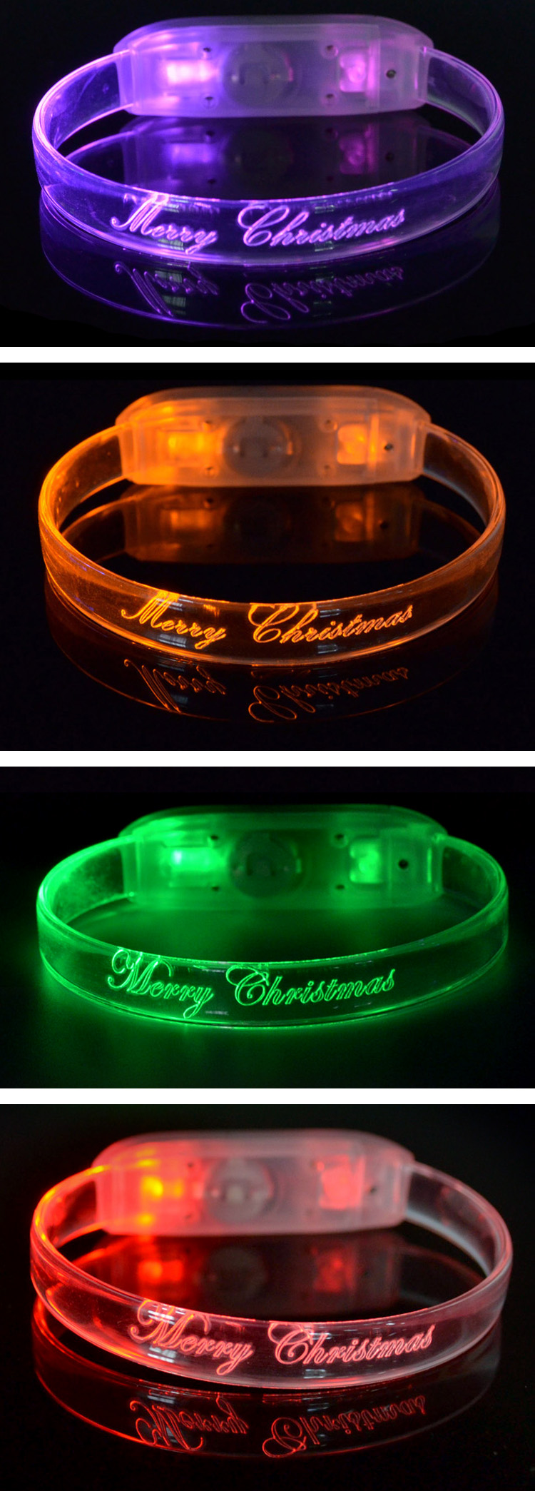 Free Samples Hot Product TZ-W230M Motion Sound Activated Led Bracelet Concert Wholesale