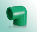 Best quality green ppr 90 degree elbow with reasonable price