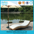 Discount Aluminum Rustproof Frame Sun Bed Umbrella
