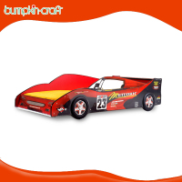 Bumpkincraft racing full size car bed for kids