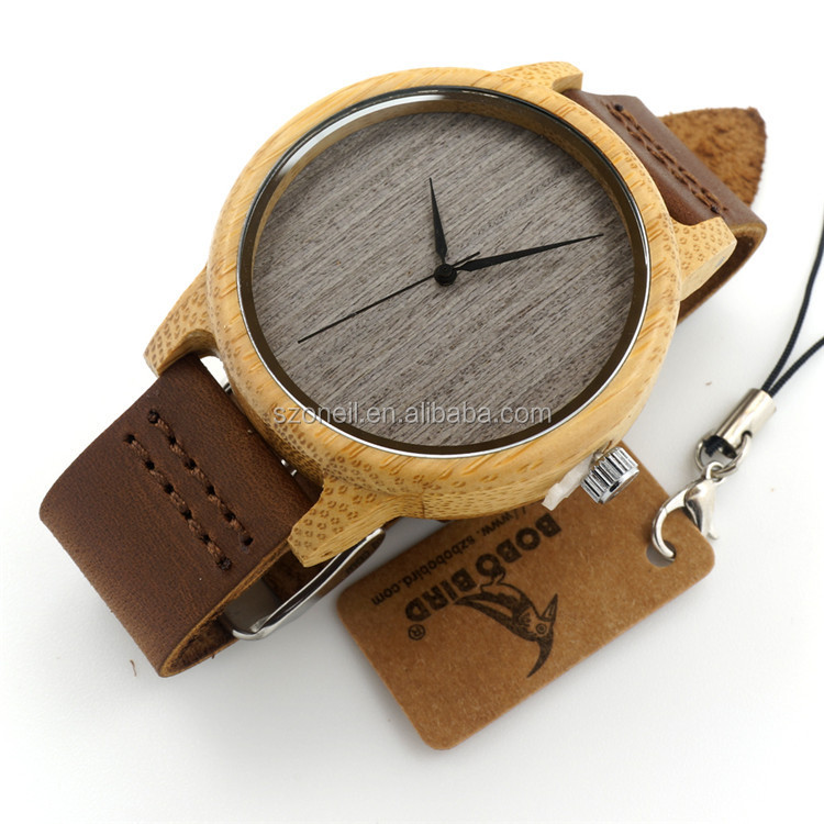 Oneil Watch Popular Custom Wood Fashioon Unisex Wooden Wrist Watch