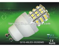 GU10/G9 3528smd 3w high power led corn light led spotlight