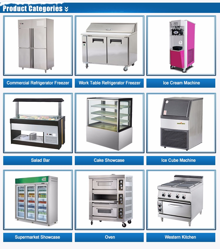 Commercial good quality Easy to operate pizza freezer
