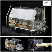 Laboratory Vacuum Glove Box for isolated operation