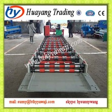 980 type corrugated roof panel eps sandwich board metal roofing making machine roll forming plastic