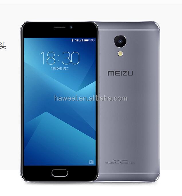 "Latest Meizu M5 Note MTK6753 Octa Core M464U 5.5"" Android 6.0 1080P FDD LTE 4G 13MP 2G RAM 13MP Meizu Note 5 Phone"