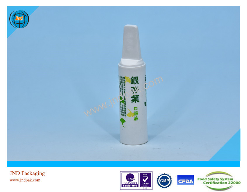 Plastic Medical Packing bottle Mini Liquid by GMP standard plant with FSSC22000 certificate