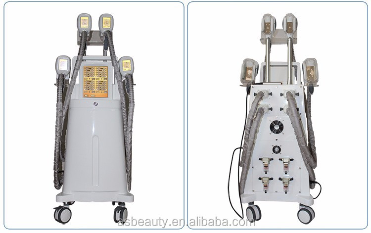 4 handles fat freezing slimming equipment etg50-4s cryolipolysis machine